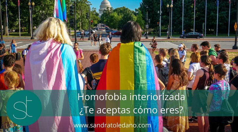 Homofobia Interiorizada. ¿Te aceptas cómo eres?