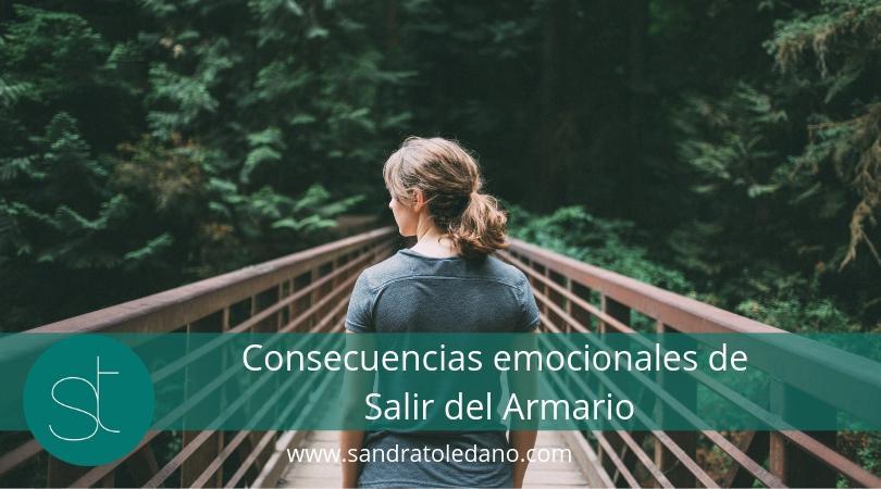 Consecuencias emocionales de salir del armario