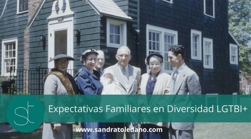 Expectativas familiares en Diversidad LGTBI